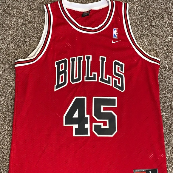save off def68 53c38 Michael Jordan Chicago Bulls #45 Road Red Jersey